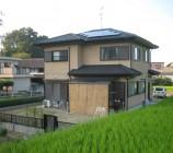 A様邸 太陽光パネル設置工事
