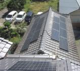 K様邸 太陽光発電設置工事