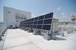 商業施設や高層ビルで太陽光発電