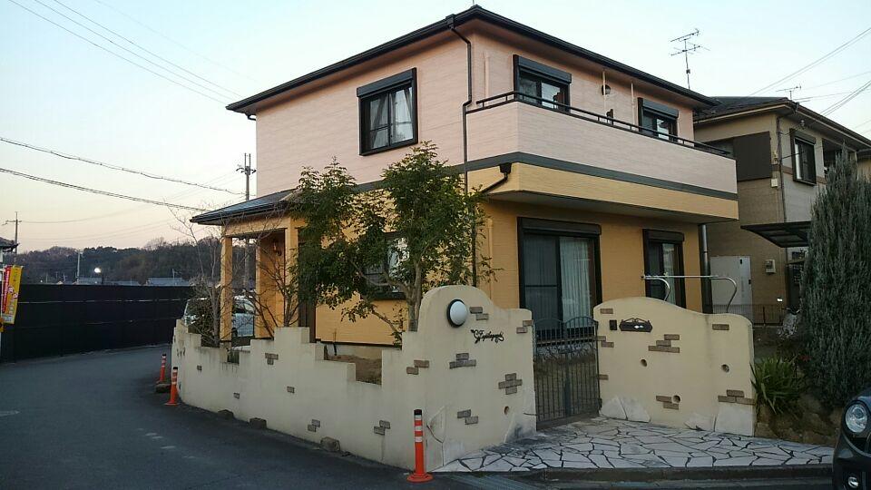 S様邸塗装工事後1